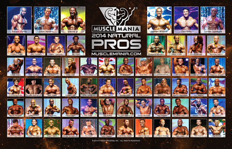2014 Musclemania Pros