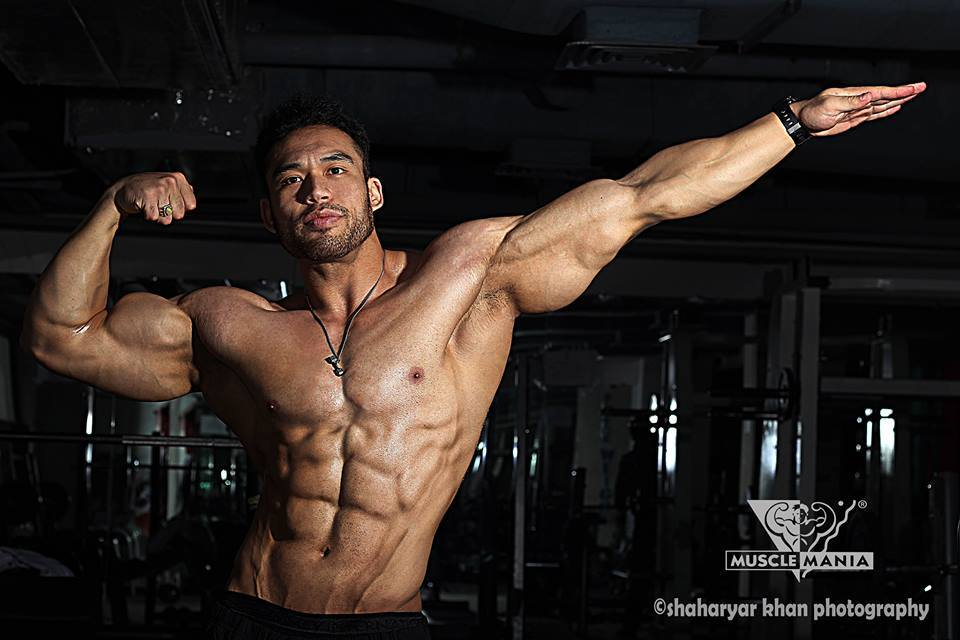 Pakistan's Best Natural - Musclemania