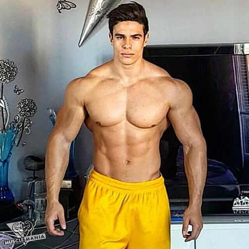 Musclemania Natural Bodybuilding - French Pharoux